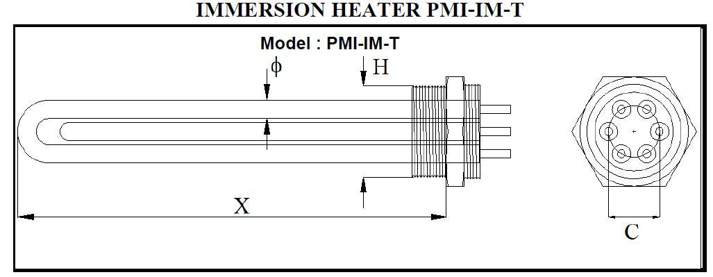 ชนิดของ Immersion Heater