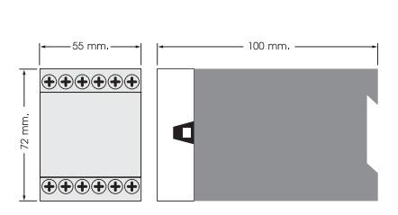 Digital Voltage Protection Relay Relay สำหรับป้องกันไฟตก-ไฟเกิน, เฟสไม่สมดุลและสลับเฟส