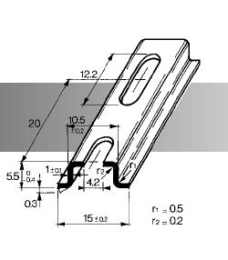 รางปีกนก,รางเก็บสายไฟ,ราง omega,ราง din rail,omega rail,wiring duct,รางโอเมก้า,din rail,terminal block,circuit breaker