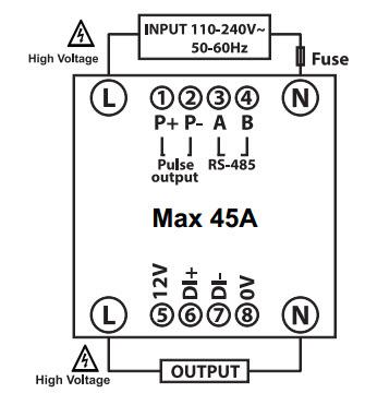 wireless power meter,มิเตอร์หอพัก,LoRahWAN Meter