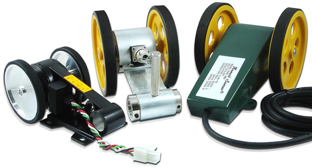 Measuring wheel encoder เครื่องวัดระยะทางแบบลูกล้อ
