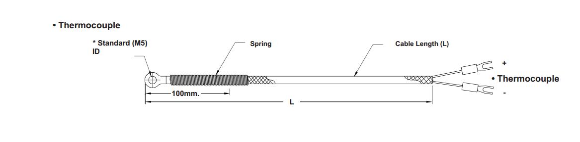 Temperature Sensor Thermocouple Type K   U0e40 U0e0b U0e47 U0e19 U0e40 U0e0b U0e2d U0e23 U0e4c U0e27 U0e31 U0e14 U0e2d U0e38 U0e13 U0e2b U0e20 U0e39 U0e21 U0e34